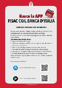 Nasce la APP Fisac CGIL Banca d'Italia