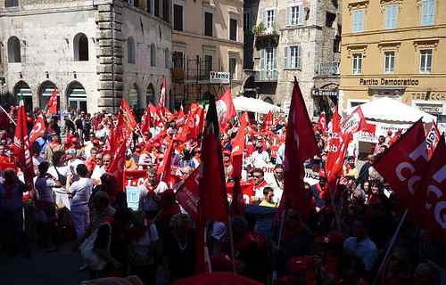1° Maggio a Perugia: priorità Lavoro
