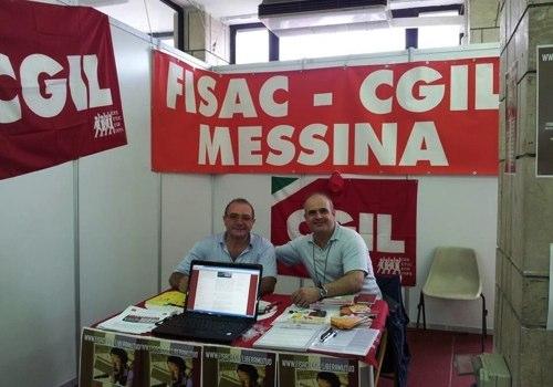 LiberaMutuo: grande interesse a Messina durante la Festa Cgil