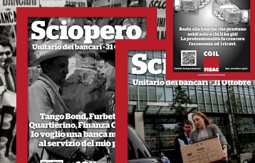 Manifesti Unitari e 10 Locandine per uno sciopero