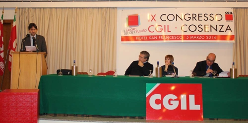 Congresso Fisac Cgil Cosenza