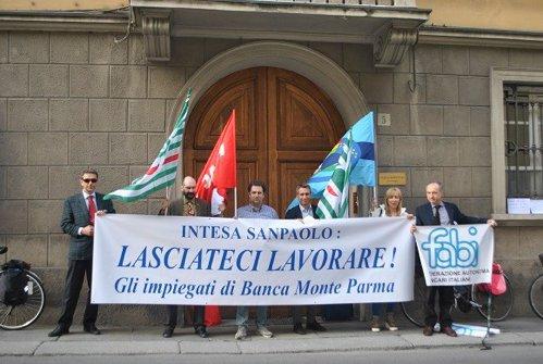 Banca Monte Parma: oggi la manifestazione