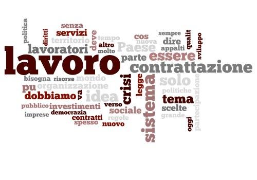 La relazione di Susanna Camusso e le parole chiave