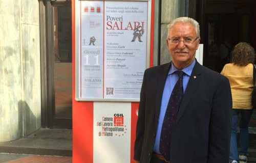 """Megale: Presentazione alla Stampa del libro """"POVERI SALARI"""""""