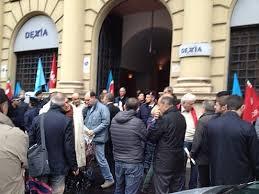 Lazio – Dexia Crediop i lavoratori contro i licenziamenti