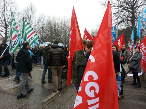 Bcc: Presidio davanti a Federveneta