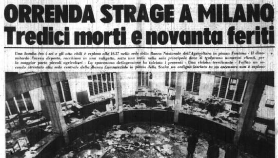 Piazza Fontana: 12 dicembre 1969, per non dimenticare