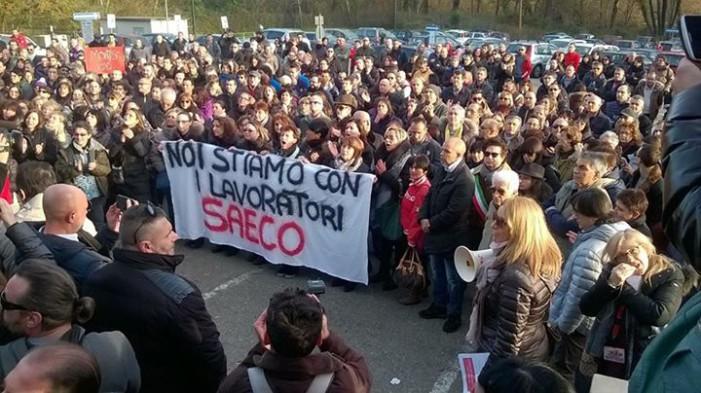 Unicredit Bologna – Volantino solidarietà dipendenti Saeco