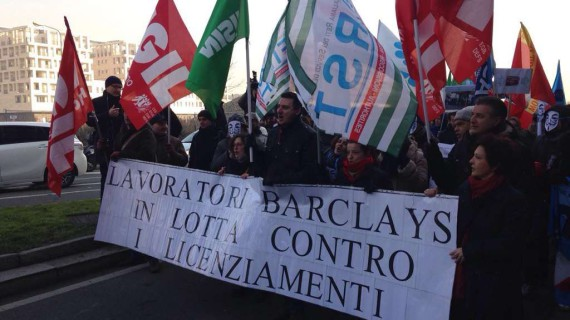#Barclays: uniti in piazza – Foto Gallery
