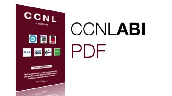 Contratto Nazionale dei Bancari – CCNL ABI 2015: ora anche in formato PDF