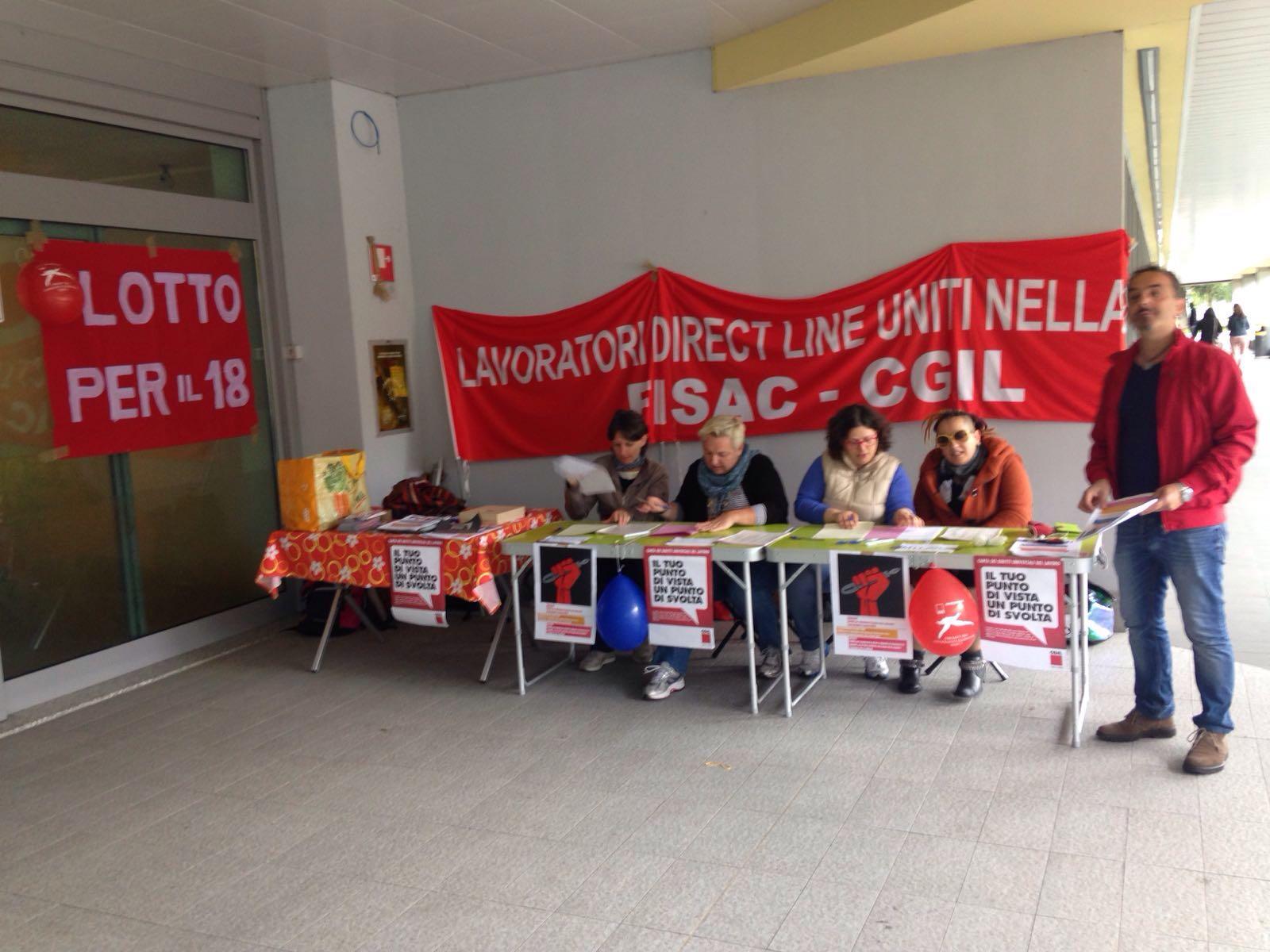 Fisac CGIL Milano e Lombardia: Raccolta firme Carta dei Diritti