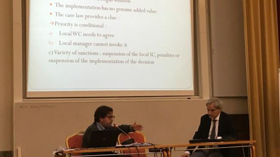 Internazionale: seminario europeo della Fisac