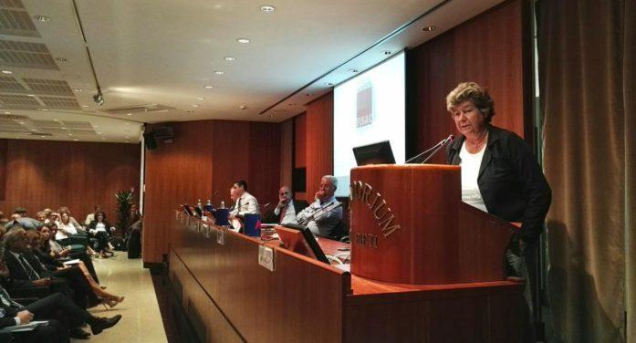 Susanna Camusso chiude il terzo Forum della Fisac Cgil