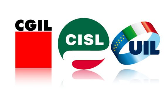 CGIL CISL UIL:   A tutti i Rappresentanti dei lavoratori per la sicurezza, aziendali, territoriali e di sito produttivo