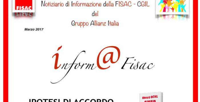 Gruppo Allianz Italia:  Inform@Fisac, marzo 2017