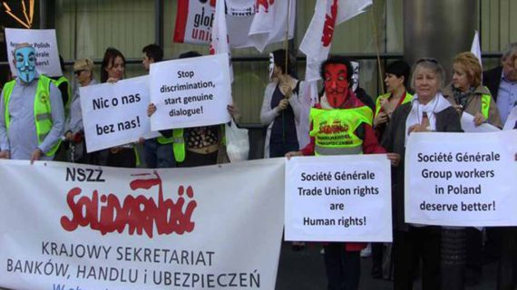 Société Générale: lettera di Uni Finance alla Direzione e manifestazione