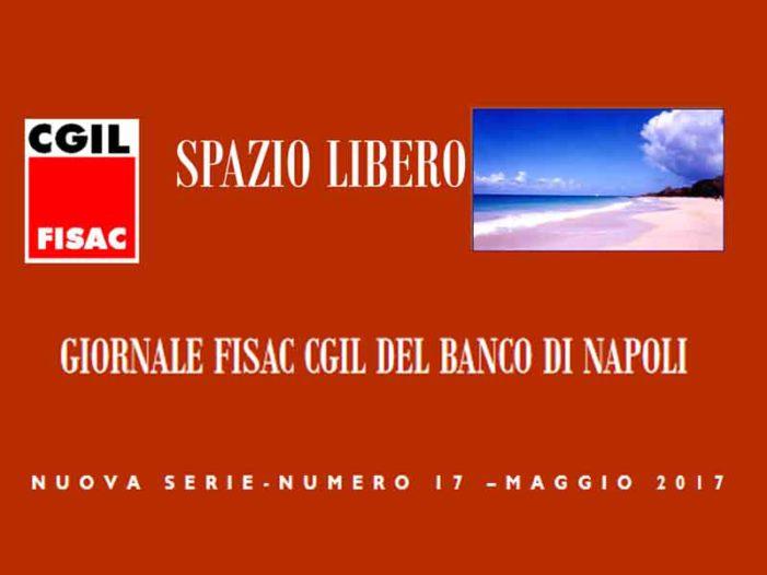 Banco di Napoli: il numero di maggio del notiziario della FISAC-CGIL