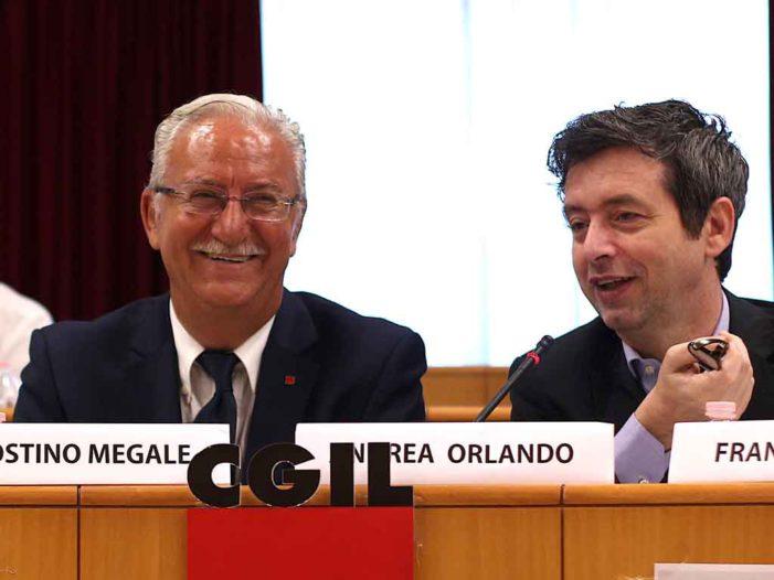 Megale e Orlando: il ministro concorda che sulle crisi delle due banche venete il governo deve convocare il sindacato
