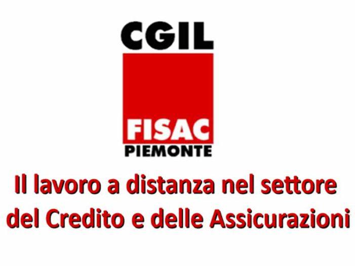 Intesa Sanpaolo: il convegno Fisac sullo Smart Working