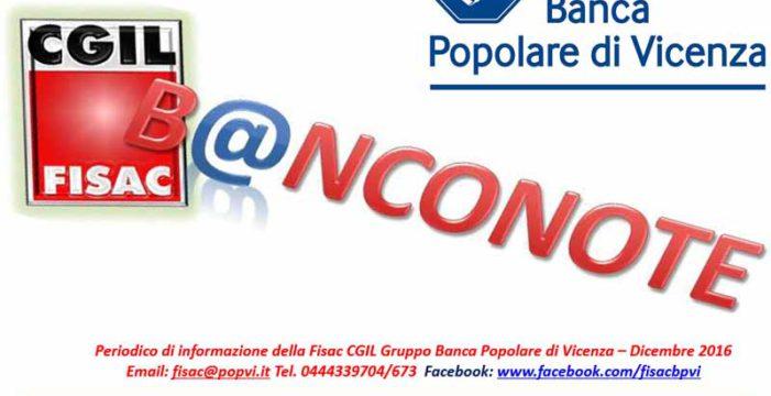 Banca Popolare di Vicenza: accordo con ISP sul Fondo di Solidarietà
