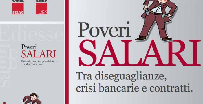 Poveri Salari: evento del 20 luglio 2017 a Milano