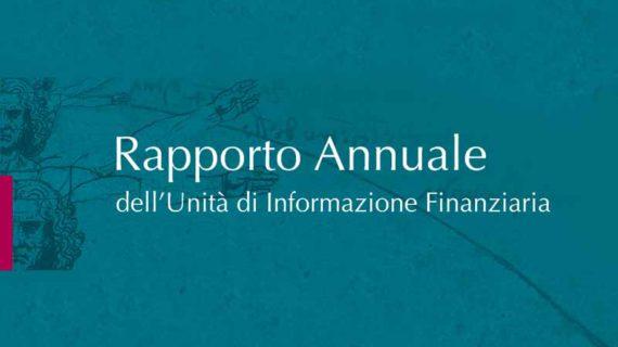 Antiriciclaggio: rapporto annuale UIF