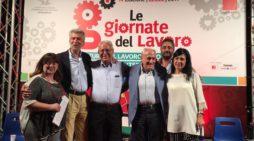 Lecce: alle Giornate del Lavoro Megale parla di Salari – Foto Gallery