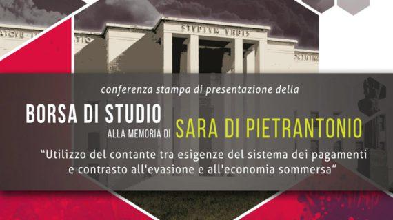 Borsa di Studio alla memoria di Sara Di Pietrantonio