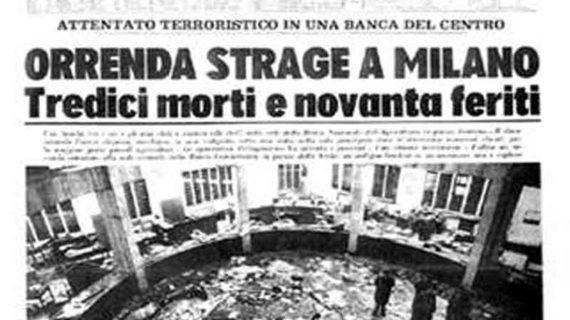 Milano: 48° anniversario della strage di piazza Fontana