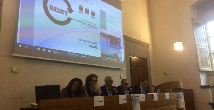Reset un nuovo modello di banca, più forti relazioni industriali. L'iniziativa a Firenze.