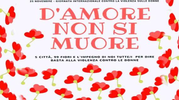 La Campania in occasione della giornata internazionale contro la violenza sulle donne