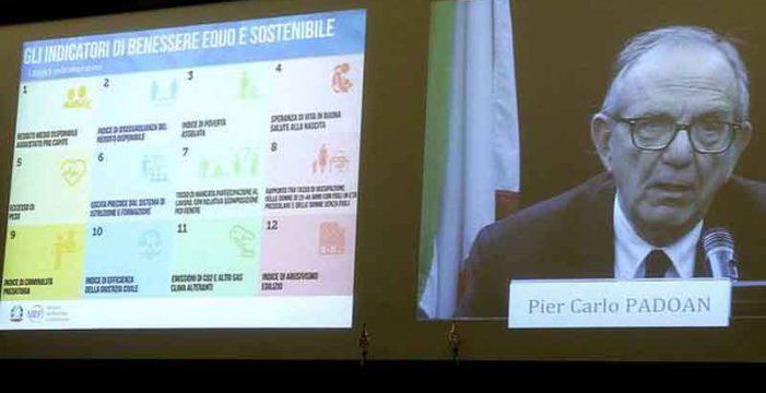 Approvato l'inserimento dei 12 indicatori di Benessere equo e sostenibile nel Def