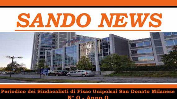 "Fisac Unipolsai San Donato Milanese: nuovo periodico ""Sandonews"""