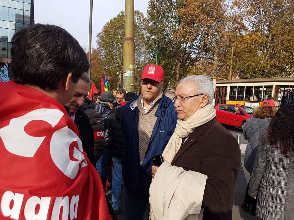 Sciopero ICBPI: il presidio a Milano – Fotogallery