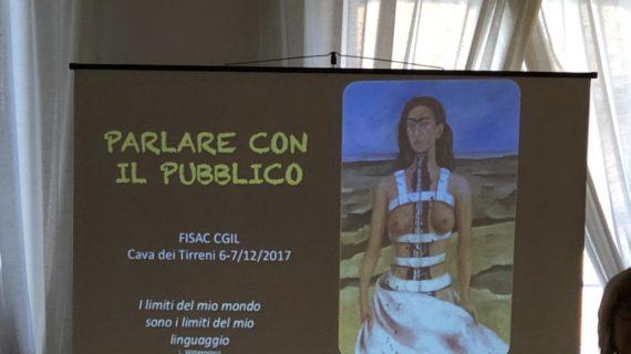 A Salerno il corso, parlare con il pubblico – Foto Gallery