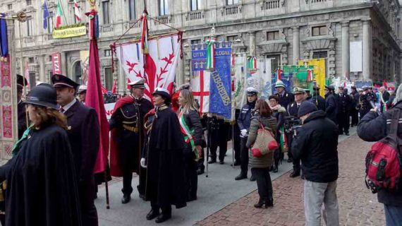 Milano: 48° anniversario della strage di piazza Fontana – La fotogallery