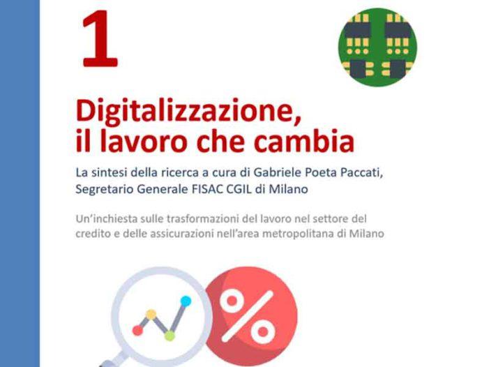 Digitalizzazione: il lavoro che cambia – Dispensa tematica n.1