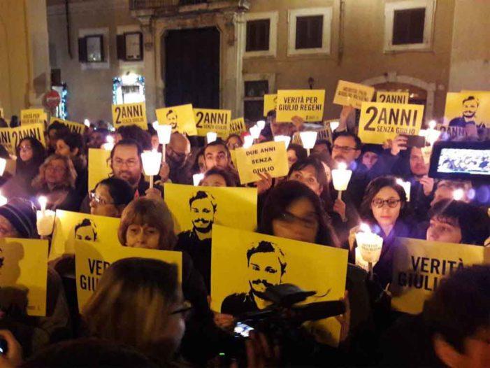 2nd anniversary of Giulio Regeni's disappearance and murdure