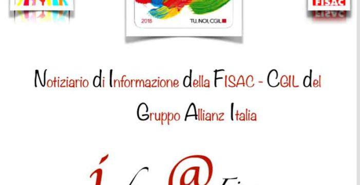Gruppo Allianz Italia:  Inform@Fisac, gennaio 2018