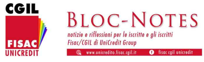 Lazio – Unicredit Group – Bloc Notes