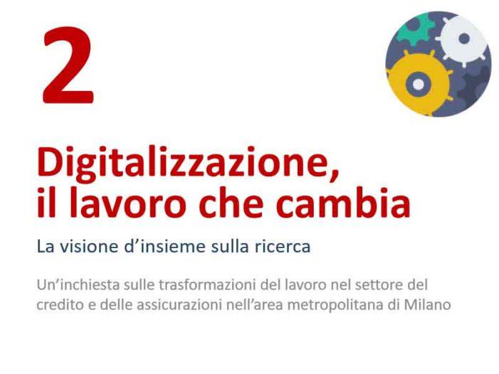 Digitalizzazione: il lavoro che cambia – Dispensa tematica n.2