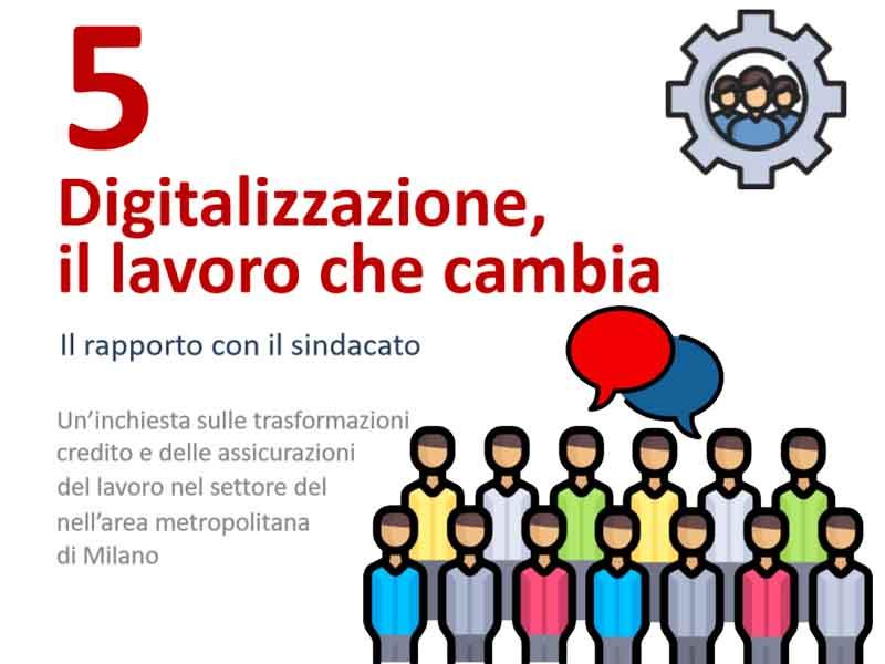 Digitalizzazione: il lavoro che cambia – Dispensa tematica n.5