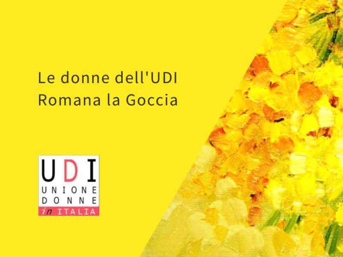 """UDI Romana """"La Goccia"""" per l'8 marzo"""