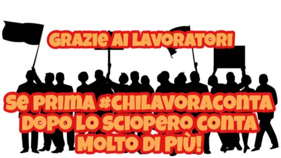 Unipol: alta adesione allo sciopero