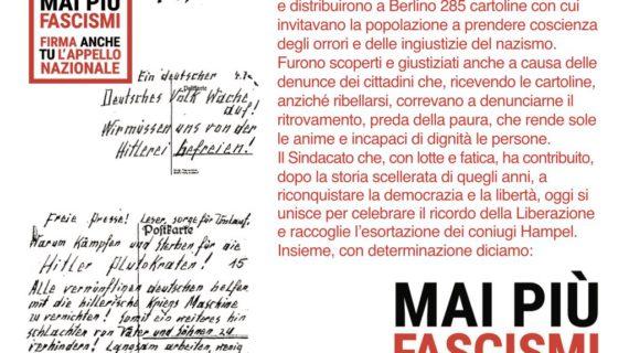 25 Aprile – Mai più fascismi