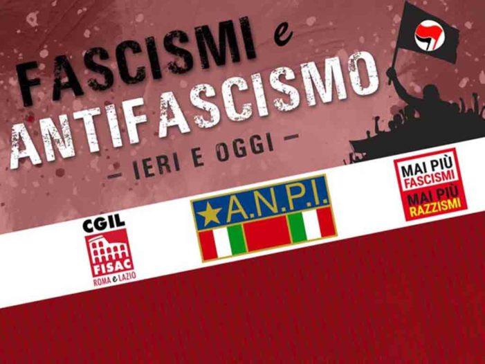 Lazio – Fascismi e Antifascismi ieri e oggi