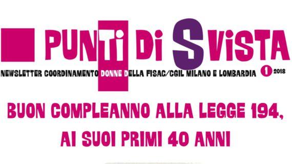 Donne Lombardia: buon compleanno alla Legge 194, ai suoi primi 40 anni