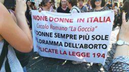 #legge194: il corteo a Roma