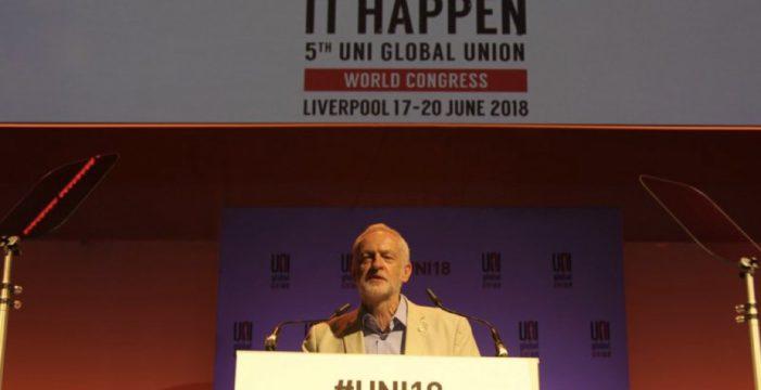 Internazionale: il V Congresso UNI Global Union