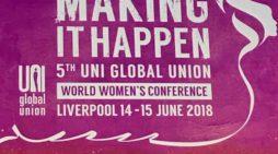 Seconda giornata Uni Women conference in Liverpool